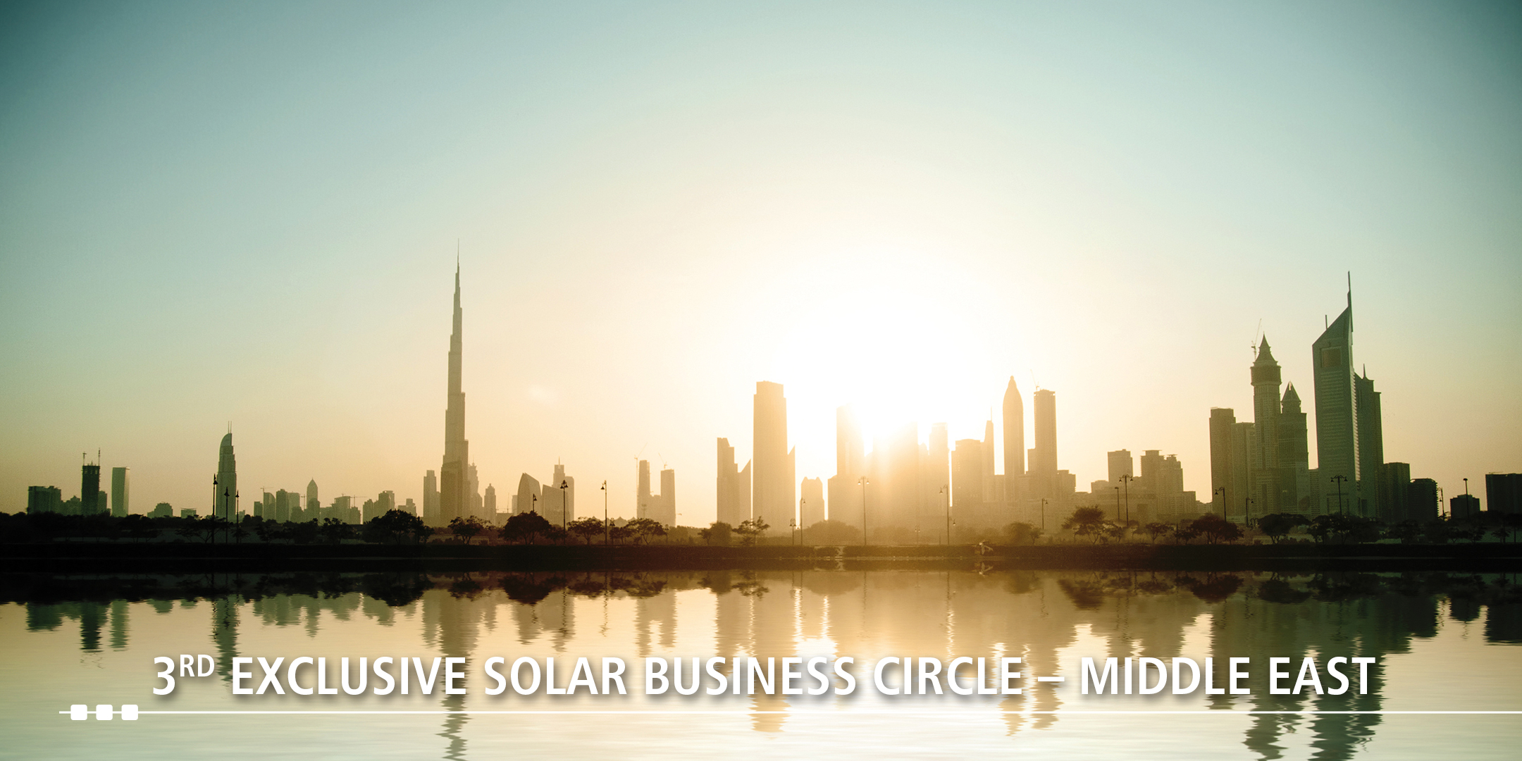 Eco Marine Global @ 3rd Exclusive Solar Business Circle – Middle East